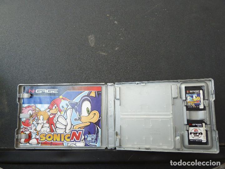 Videojuegos y Consolas: JUEGO - NOKIA - N-GAGE - SONICN - SONIC N - FIFA 2005 - Foto 3 - 104467407