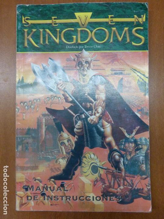 SEVEN KINGDOMS - MANUAL DE INSTRUCCIONES (Juguetes - Videojuegos y Consolas - Otros descatalogados)