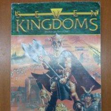 Videojuegos y Consolas: SEVEN KINGDOMS - MANUAL DE INSTRUCCIONES. Lote 104470527