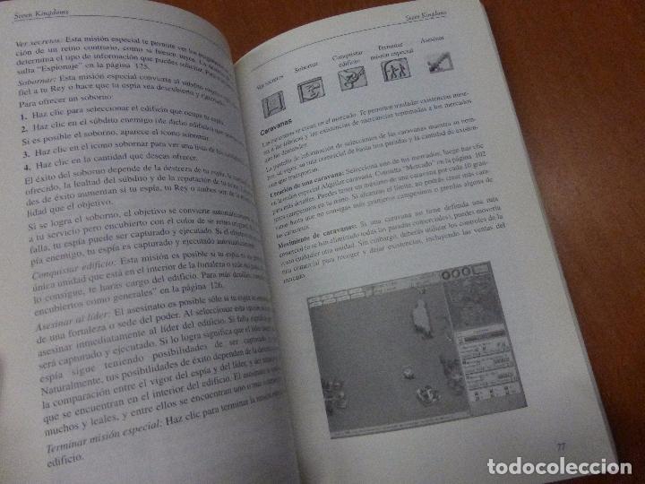 Videojuegos y Consolas: SEVEN KINGDOMS - manual de instrucciones - Foto 3 - 104470527