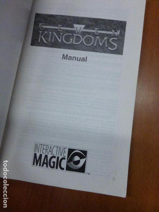 Videojuegos y Consolas: SEVEN KINGDOMS - manual de instrucciones - Foto 4 - 104470527