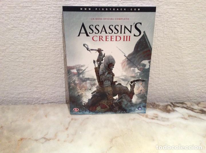 ASSASSINS CREED III - LA GUIA OFICIAL COMPLETA (Juguetes - Videojuegos y Consolas - Otros descatalogados)