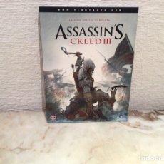 Videojuegos y Consolas: ASSASSINS CREED III - LA GUIA OFICIAL COMPLETA. Lote 104489839