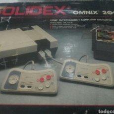 Videojuegos y Consolas: CONSOLA VINTAGE SOLIDEX OMNIX 2000 CON 150 JUEGOS. Lote 104958948