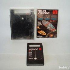 Videojuegos y Consolas: JUEGO PARA PHILIPS VIDEOPAC Nº 18 - GUERRA LASER - COMPLETO. Lote 104993979