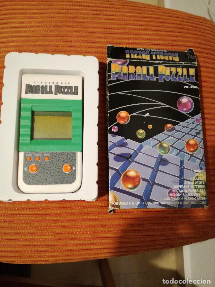 MAQUINITA PINBALL PUZZLE TIPO ARKANOID GAME & WATCH (Juguetes - Videojuegos y Consolas - Otros descatalogados)