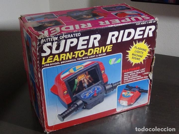 Videojuegos y Consolas: SIMULADOR DE MOTO SUPER RIDER 1991 - VER VIDEO - - Foto 2 - 105590279