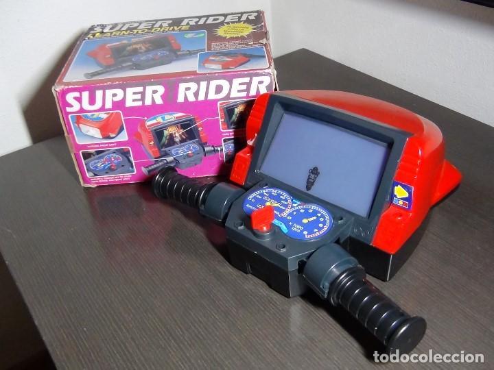 Videojuegos y Consolas: SIMULADOR DE MOTO SUPER RIDER 1991 - VER VIDEO - - Foto 5 - 105590279