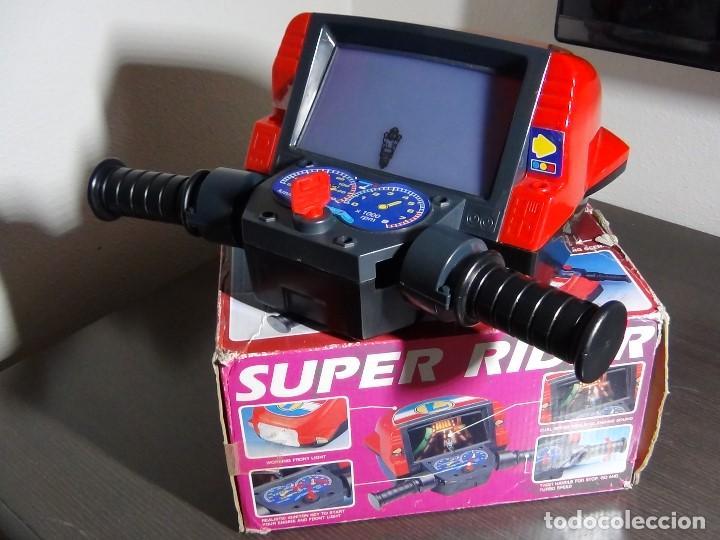 Videojuegos y Consolas: SIMULADOR DE MOTO SUPER RIDER 1991 - VER VIDEO - - Foto 7 - 105590279