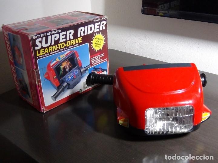Videojuegos y Consolas: SIMULADOR DE MOTO SUPER RIDER 1991 - VER VIDEO - - Foto 9 - 105590279