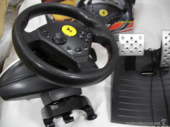 Videojuegos y Consolas: ANTIGUO VOLANTE THRUSTMASTER FERRARI 360 MODENA RED EDITION RACING WHEEL RED EN CAJA - Foto 2 - 106569831