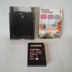 Videojuegos y Consolas: JUEGO PARA PHILIPS G7000 VIDEOPAC Nº 1 - FORMULA UNO - COMPLETO. Lote 106749091