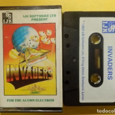 Videojuegos y Consolas: JUEGO PARA ACORN ELECTRON - INVADERS - SSS I.J.K SOFTWARE -.1983. Lote 106851599