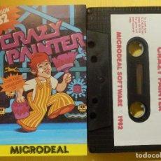 Videojuegos y Consolas: JUEGO PARA DRAGON 32 - CRAZY PAINTER - MICRODEAL - 1982. Lote 106855955