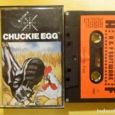 Videojuegos y Consolas: JUEGO PARA BBC 32K - CHUCKIE EGG - A & F SOFTWARE - 1983. Lote 106860007