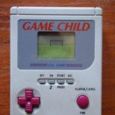 Videojuegos y Consolas: CONSOLA GAME CHILD FUTBOL FUNCIONANDO. Lote 106927059