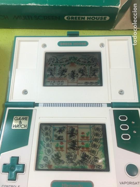 Videojuegos y Consolas: Game Watch,Green house version Francia Nintendo,Bandai,sega,electronic game - Foto 4 - 107049463