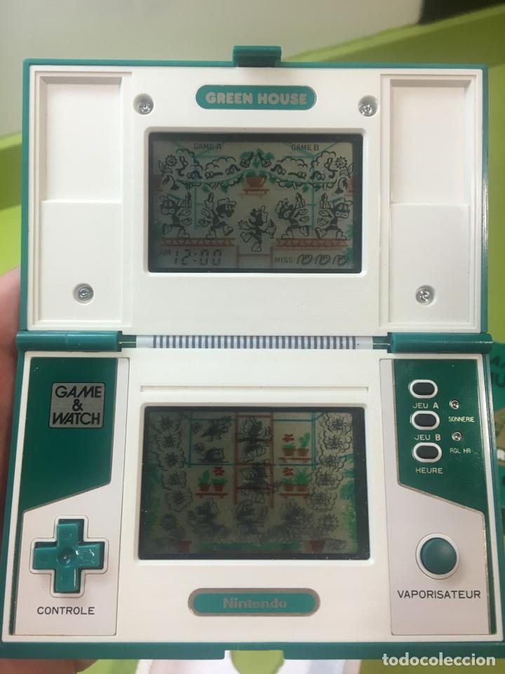 Videojuegos y Consolas: Game Watch,Green house version Francia Nintendo,Bandai,sega,electronic game - Foto 5 - 107049463