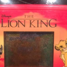 Videojuegos y Consolas: MAQUINITA GAME AND WATCH TIGER THE LION KING 1994,NINTENDO,BANDAI,ATARI,PC. Lote 107603300