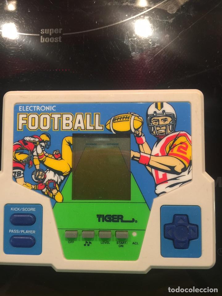 MAQUINITA GAME AND WATCH TIGER FOOTBALL 1987,NINTENDO,ATARI,SEGA,BANDAI,PC,MICROSOF, JUEGO,ANTIGUO, (Juguetes - Videojuegos y Consolas - Otros descatalogados)