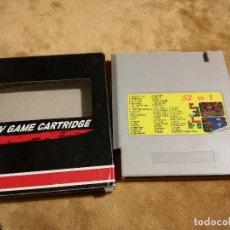 Videojuegos y Consolas: CARTUCHO MULTIJUEGO 52 EN 1 NASA NINTENDO NES CLÓNICA. Lote 108276383