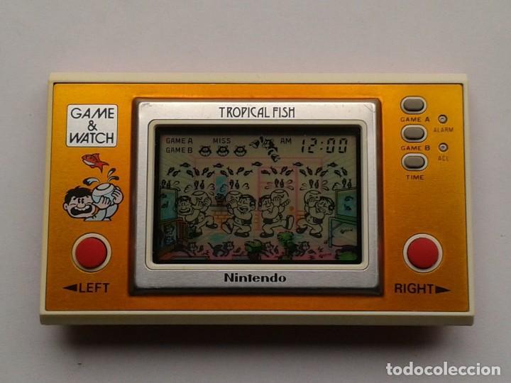 NINTENDO GAME&WATCH WIDESCREEN TROPICAL FISH TF-104 EXTRA FINE FILTRO NUEVO!!! R6864 (Juguetes - Videojuegos y Consolas - Otros descatalogados)