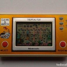 Videojuegos y Consolas - NINTENDO GAME&WATCH WIDESCREEN TROPICAL FISH TF-104 EXTRA FINE FILTRO NUEVO!!! R6864 - 109086959