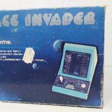Videojuegos y Consolas: ANTIGUA CONSOLA TABLETOP SPACE INVADER GAKKEN . Lote 109565343