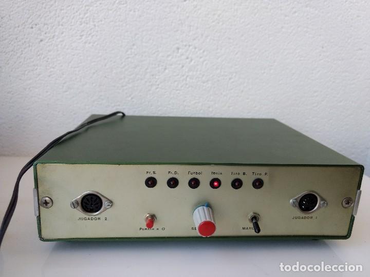 JUEGO DE LOS AÑOS 70 PARA TV, CON PING-PONG Y FRONTON, ETC (Juguetes - Videojuegos y Consolas - Otros descatalogados)
