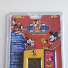 Videogiochi e Consoli: JUEGO ELECTRÓNICO LCD, CONSOLA MICKEY MOUSE - NUEVO !!! - TIGER AÑO 1997 - ERICTOYS. Lote 252008255