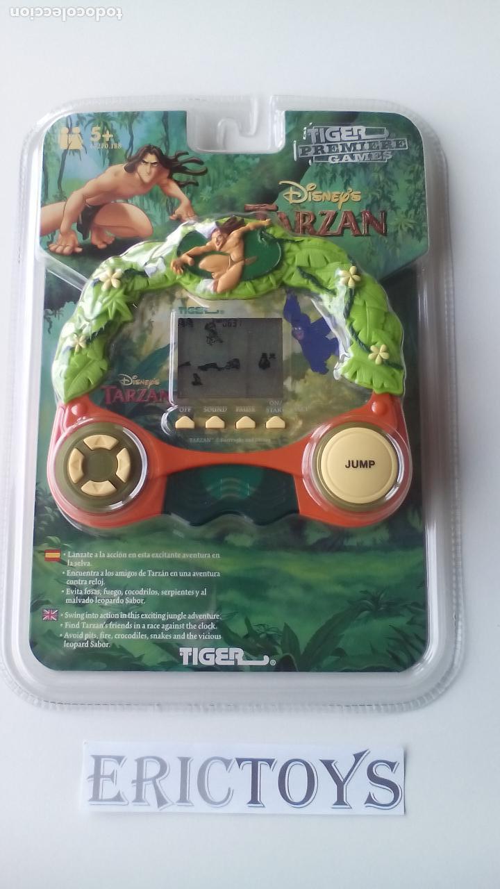JUEGO ELECTRÓNICO LCD TARZAN DISNEY - TIGER HASBRO AÑO 1999 - ERICTOYS (Juguetes - Videojuegos y Consolas - Otros descatalogados)