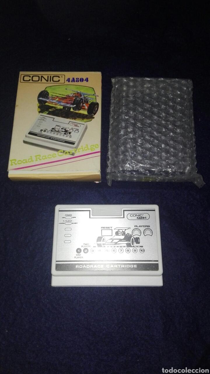 VIDEOJUEGO. ROAD RACE CARTRIDGE REF 4A804. CONSOLA VINTAGE CONIC 4A8. DIFÍCIL DE ENCONTRAR. (Juguetes - Videojuegos y Consolas - Otros descatalogados)