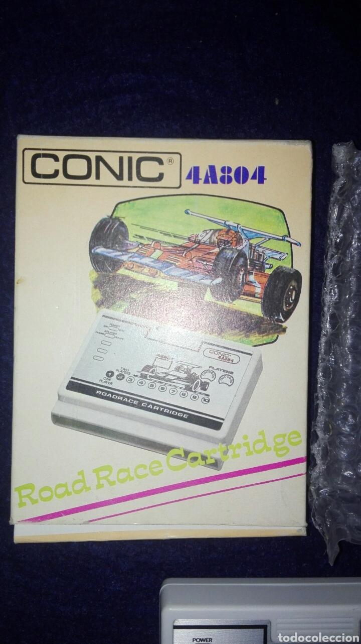 Videojuegos y Consolas: Videojuego. Road Race Cartridge Ref 4A804. Consola vintage Conic 4A8. Difícil de encontrar. - Foto 2 - 111065943