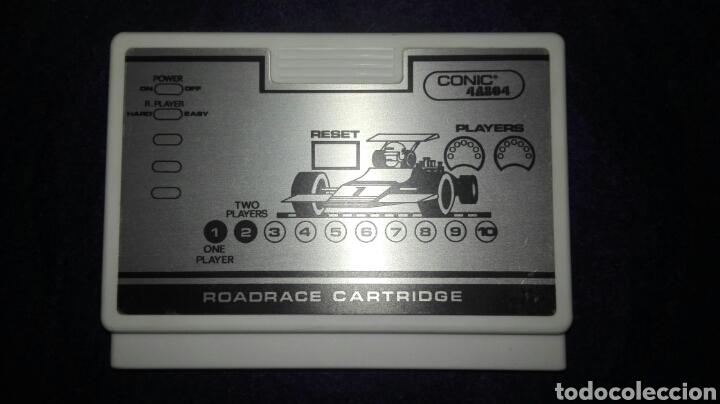 Videojuegos y Consolas: Videojuego. Road Race Cartridge Ref 4A804. Consola vintage Conic 4A8. Difícil de encontrar. - Foto 3 - 111065943