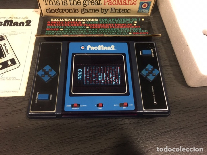 MAQUINITA TABLE TOP ENTEX PAC MAN 2 (Juguetes - Videojuegos y Consolas - Otros descatalogados)