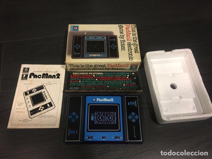 Videojuegos y Consolas: Maquinita table top entex pac man 2 - Foto 3 - 111192202