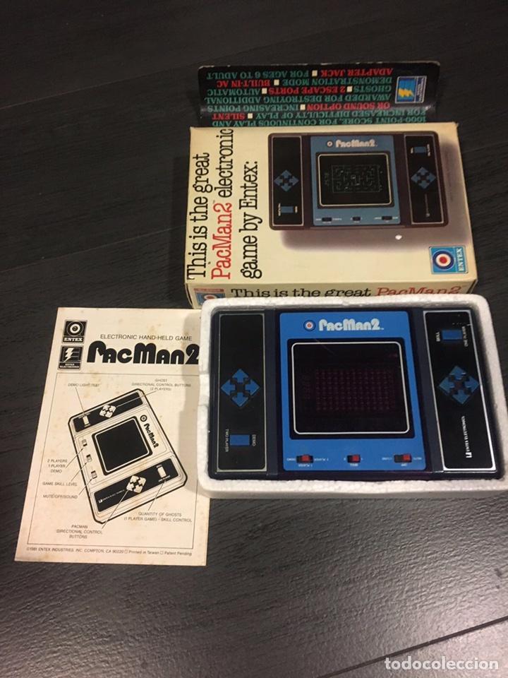 Videojuegos y Consolas: Maquinita table top entex pac man 2 - Foto 4 - 111192202