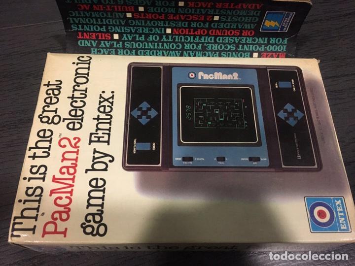 Videojuegos y Consolas: Maquinita table top entex pac man 2 - Foto 6 - 111192202