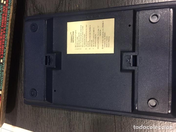Videojuegos y Consolas: Maquinita table top entex pac man 2 - Foto 7 - 111192202