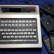 Videojuegos y Consolas: VIDEOPAC COMPUTER G 7000 PHILIPS MADE IN FRANCE CON 3 CARTUHOS |. Lote 111497239