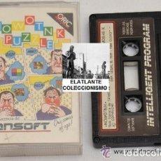 Videojuegos y Consolas: NOWOTNIK PUZZLE - TANSOFT - 1984 - ORIC ATMOS 48 K - RARO - EN CAJA. Lote 111977127