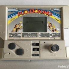 Videojuegos y Consolas: MAQUINITA K.O. BOXING DE GAKKEN - MADE IN JAPAN - JAPONESA - JUEGO LCD - CON JOYSTICK - SIN CAJA. Lote 112521027