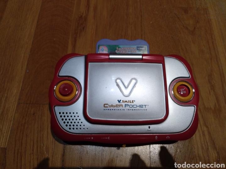 Videojuegos y Consolas: V smile.SMILE Cyber pocket. Aprendizaje interactivo. V Tech. Consola infantil. Portátil. Con juego. - Foto 2 - 112640706
