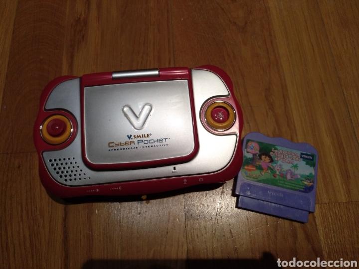 Videojuegos y Consolas: V smile.SMILE Cyber pocket. Aprendizaje interactivo. V Tech. Consola infantil. Portátil. Con juego. - Foto 3 - 112640706