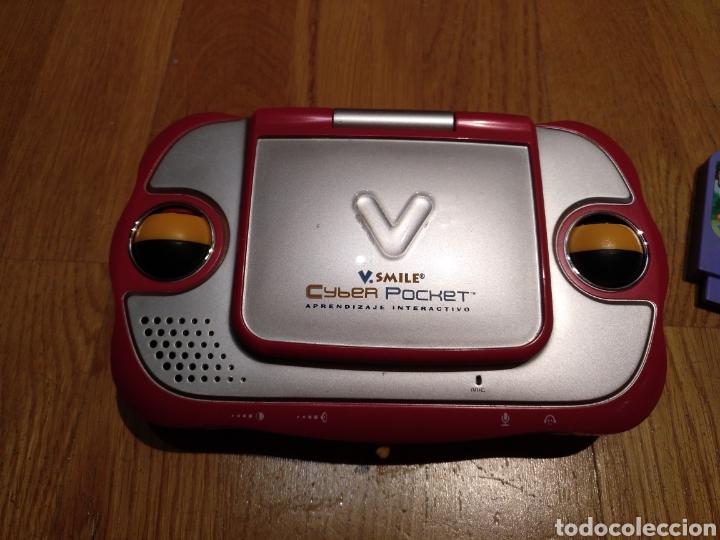 Videojuegos y Consolas: V smile.SMILE Cyber pocket. Aprendizaje interactivo. V Tech. Consola infantil. Portátil. Con juego. - Foto 4 - 112640706