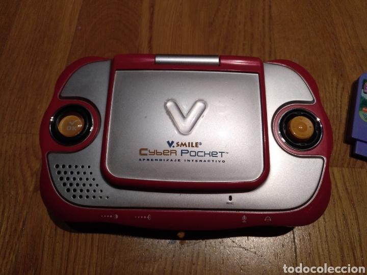 Videojuegos y Consolas: V smile.SMILE Cyber pocket. Aprendizaje interactivo. V Tech. Consola infantil. Portátil. Con juego. - Foto 5 - 112640706