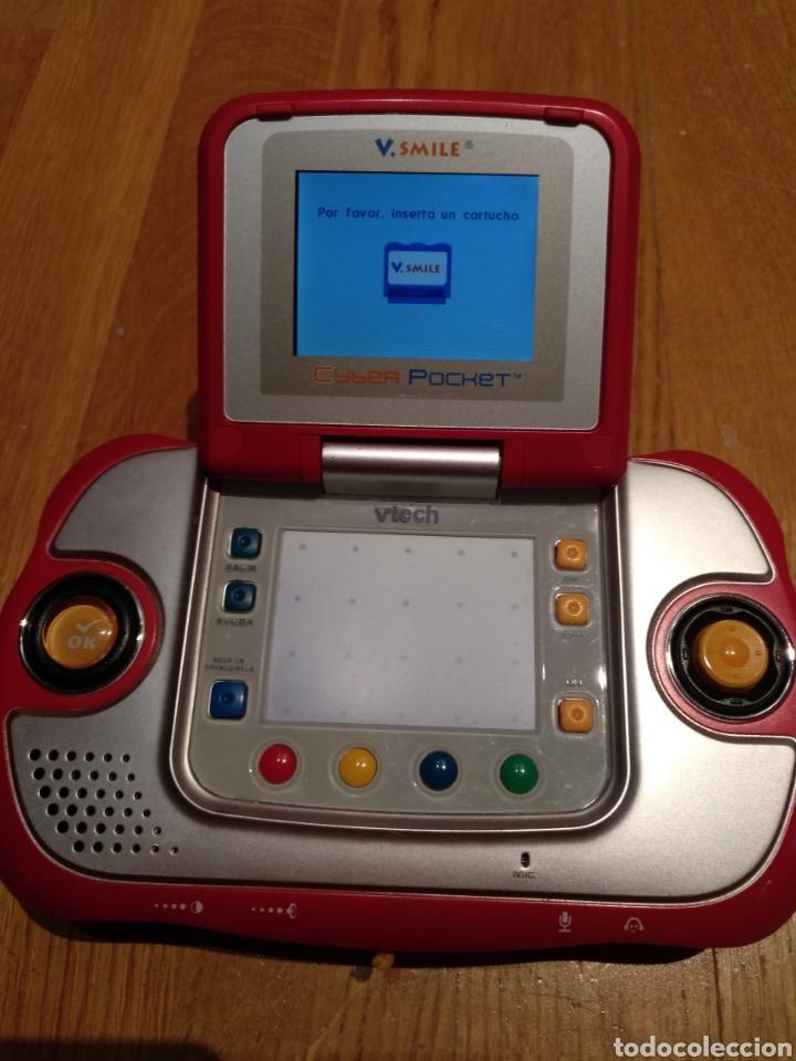 Videojuegos y Consolas: V smile.SMILE Cyber pocket. Aprendizaje interactivo. V Tech. Consola infantil. Portátil. Con juego. - Foto 6 - 112640706