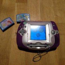 Videojuegos y Consolas: LEAPSTER.LEAPSTER LEAPFROG. 2003/2005.+ 2 JUEGOS LA SIRENITA Y BOB ESPONJA. Lote 112643231
