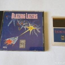Videojuegos y Consolas: BLAZING LAZERS TURBOGRAFX PC-ENGINE. Lote 113355459