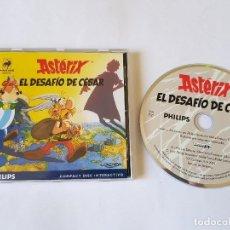 Videojuegos y Consolas: ASTERIX EL DESAFIO DEL CESAR PHILIPS CD-I. Lote 113358115